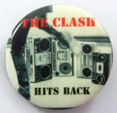 The Clash - 'Hits Back' 32mm Badge